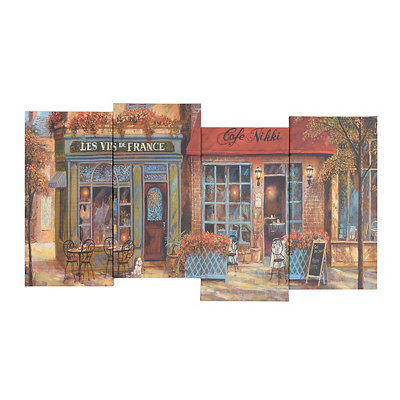 French Corridor Canvas Art Print