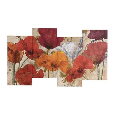 Happy Flowers Canvas Art Print
