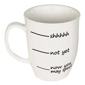SHH Not Yet Mug