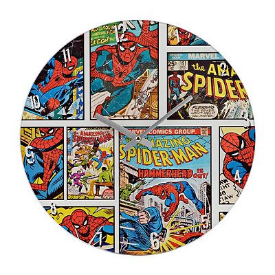 The Amazing Spider-Man Vintage Comic Clock
