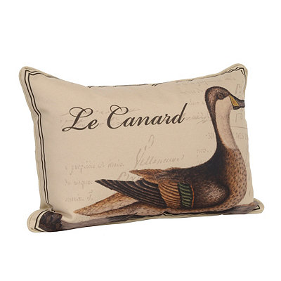 Le Canard Accent Pillow
