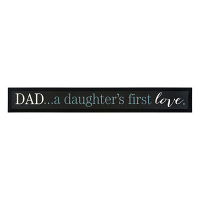 Daughter's First Love Framed Art Print