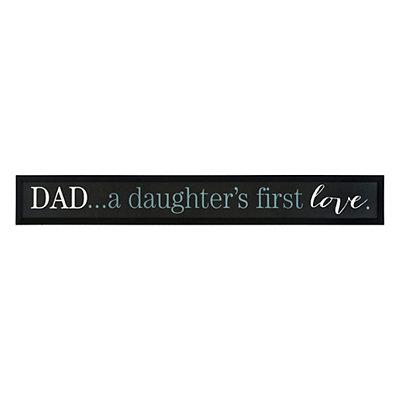 Daughter's First Love Framed Art Print