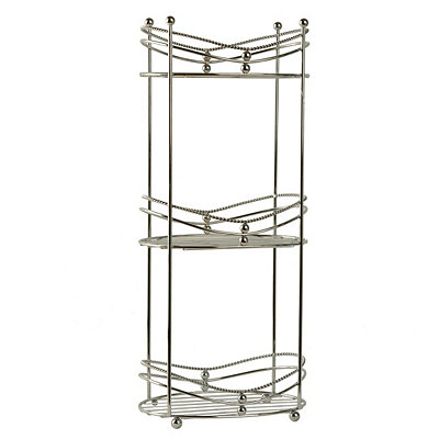 Chrome 3-Tier Spa Tower