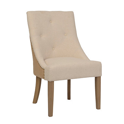 Lillian Linen Accent Chair