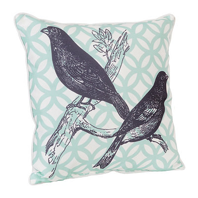 Moroccan Birds Pillow