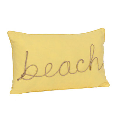 Beach Rope Accent Pillow