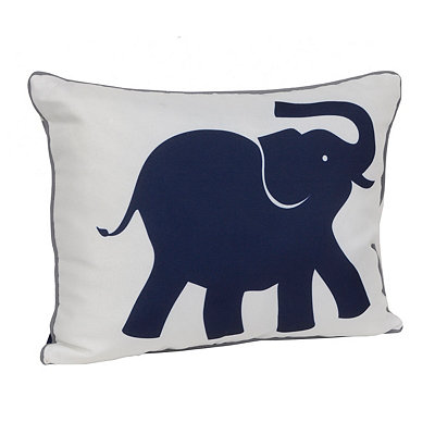 Eddie the Elephant Reversible Accent Pillow