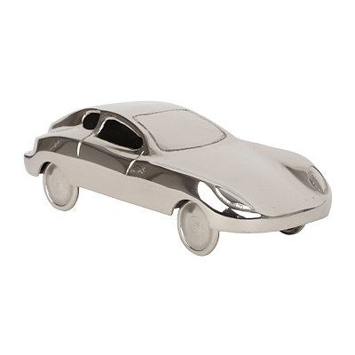 Silver Car Figurine