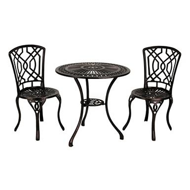 outdoor metal furniture black infinity circles outdoor metal bench rocker kirklands