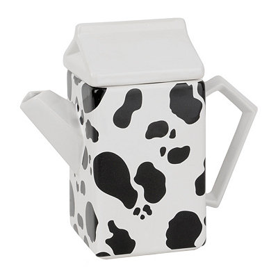 Black And White Cow Print Pitcher