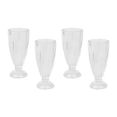 Sundae Dessert Glasses, Set of 4
