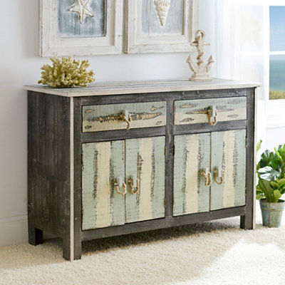 Coastal Weathered Sideboard
