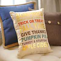 Fall Favorites Accent Pillow