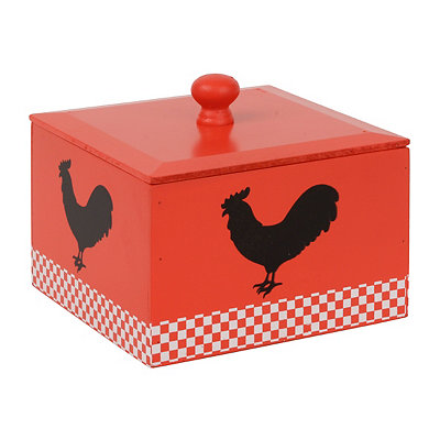 Rooster Recipe Box