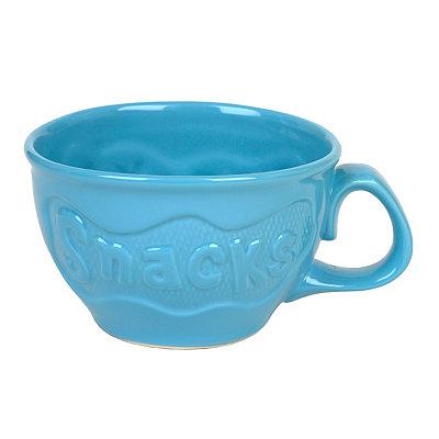 Blue Ceramic Snacks Bowl