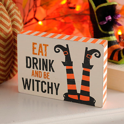 Be Witchy Word Block