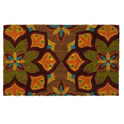 Multicolor Medallions Doormat