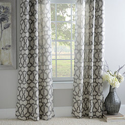 Black Pearl Teemu Curtain Panel Set, 84 in.