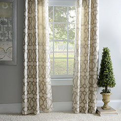 Taupe Teemu Curtain Panel Set, 84 in.