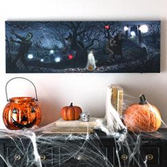 Monster Bash LED Canvas Art Print