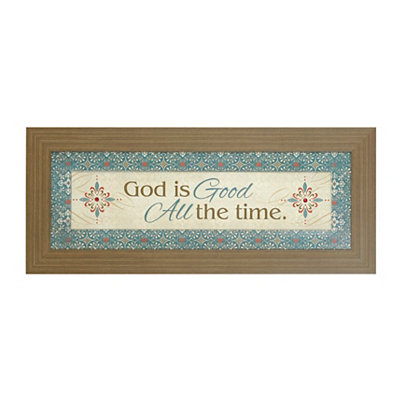 God is Good Framed Art Print