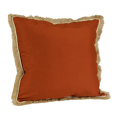 Spice Dean Fringe Pillow