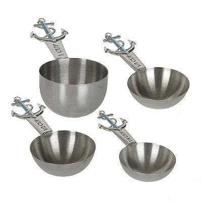 Metal Anchor Measuring Cups