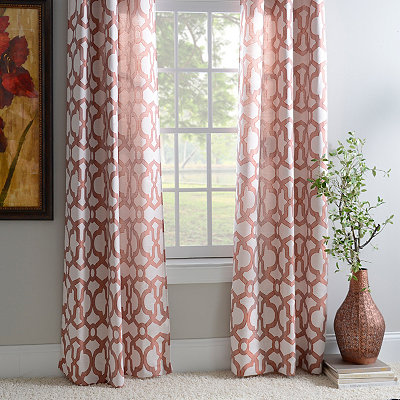 Spice Teemu Curtain Panel Set, 96 in.