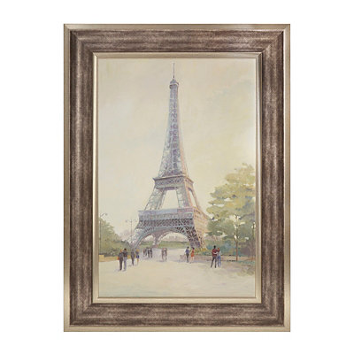 Paris at Dusk Framed Art Print