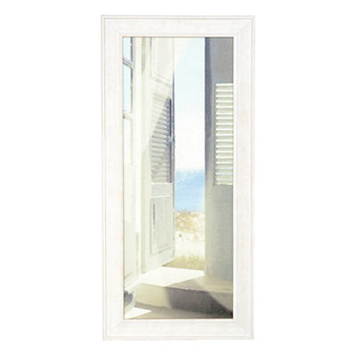 Sunlit Doorway Framed Art Print