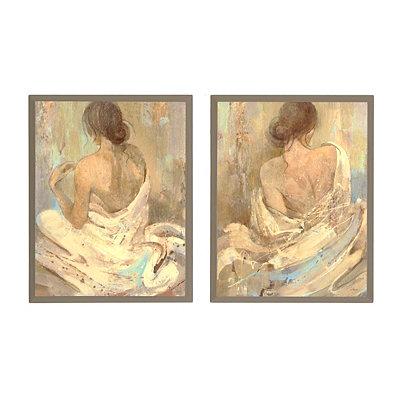 Figurative Women Plaques