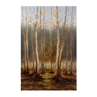 Bare Limbs Canvas Art Print
