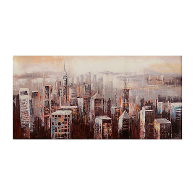 City Mist Canvas Art Print