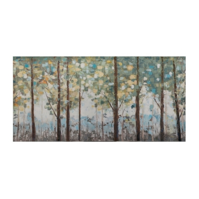 Daytime Forest Canvas Art Print