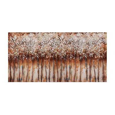 Brown Haze Canvas Art Print