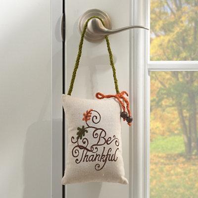 Be Thankful Door Hanger