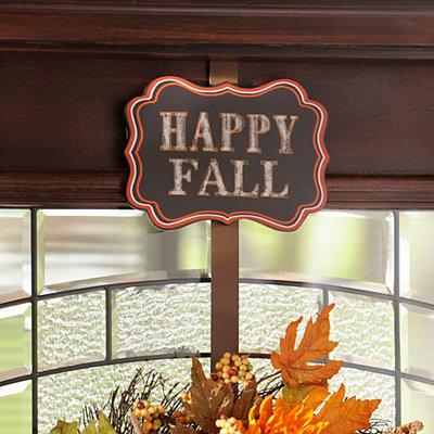 Happy Fall Y'all Wreath Hanger