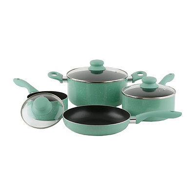 Teal Casa Balboa 7-pc Cookware Set