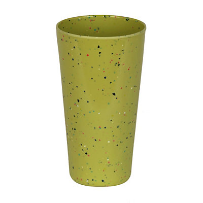 Speckled Lime Melamine Tumbler