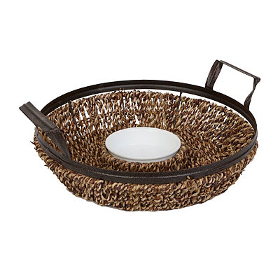 Seagrass Chip and Dip Bowl