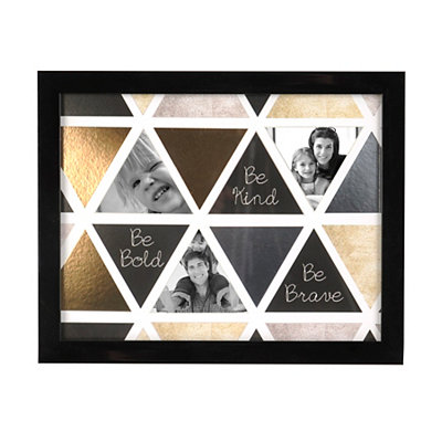 Be Bold Metallic Collage Frame