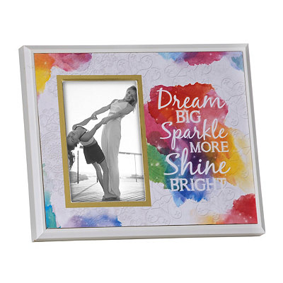 Dream Big Watercolor Picture Frame, 4x6