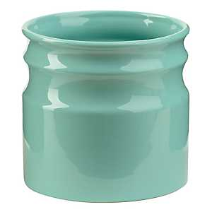 Turino Aqua Ceramic Utensil Holder