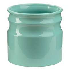 Turino Aqua Ceramic Utensil Holder