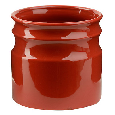 Turino Red Ceramic Utensil Holder