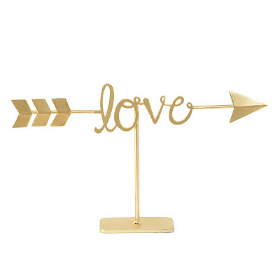 Golden Love Arrow Finial