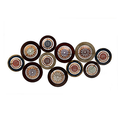 Spice Circles Metal Plaque