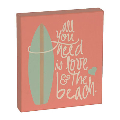 All You Need is the Beach Box Sign