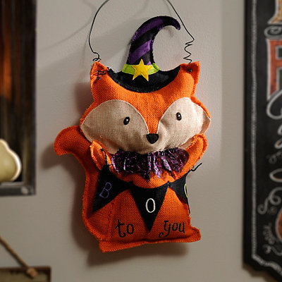 Boo to You Fox Wall Hanger